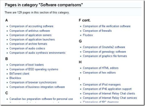 Category-Software comparisons - Wikipedia, the free encyclopedia_1198826614953