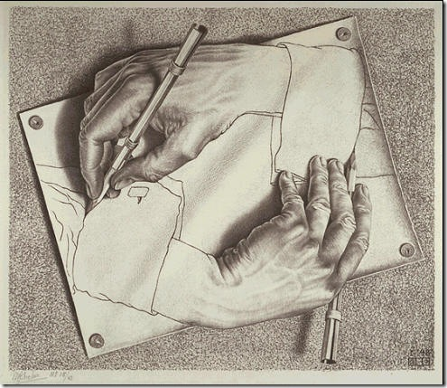DrawingHands-Escher