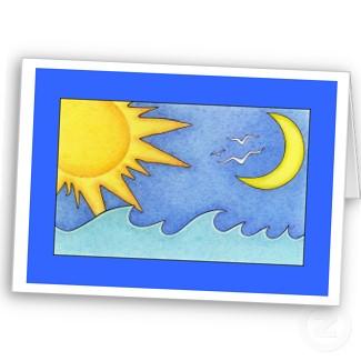 tl sun moon holiday card برترین کلمات در زندگی یک انسان بخوانیم و به کار بگیریم